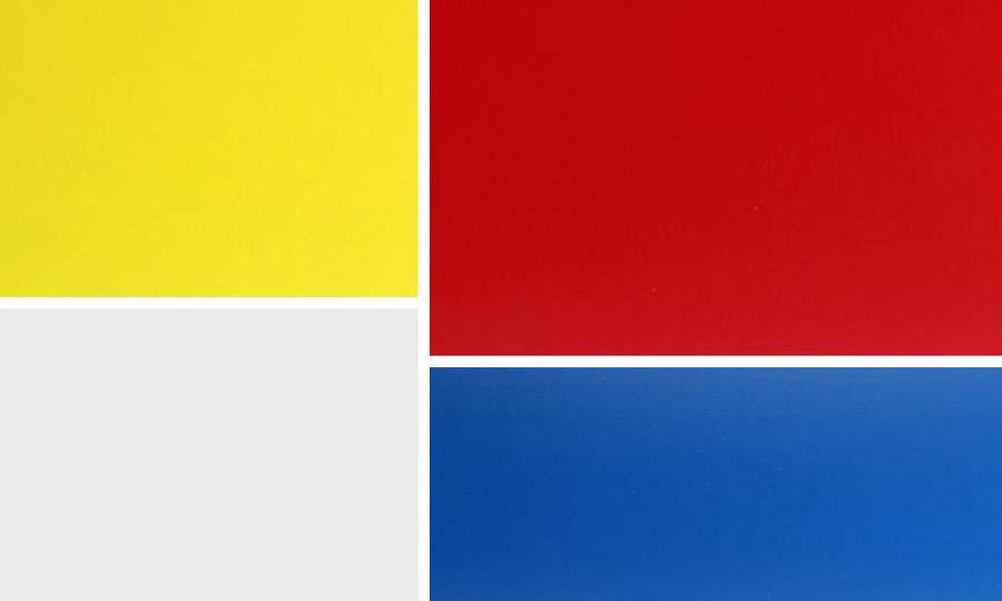 De Kleur Rood : Berken betonplex in kleur mpx multiplex